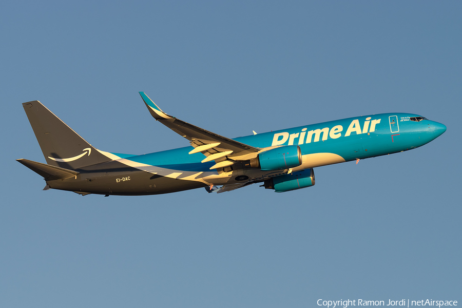 Amazon Prime Air (ASL Airlines Ireland) Boeing 737-8AS(BCF) (EI-DAC) | Photo 411992