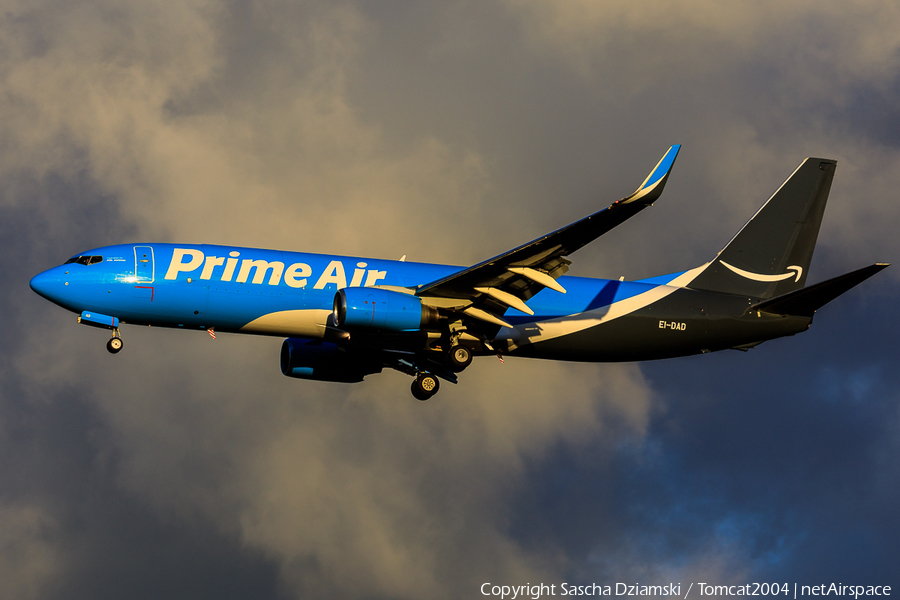 Amazon Prime Air (ASL Airlines Ireland) Boeing 737-8AS(BCF) (EI-DAD) | Photo 409681