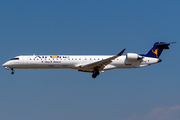 Air One CityLiner Bombardier CRJ-900ER (EI-DVR) at  Barcelona - El Prat, Spain