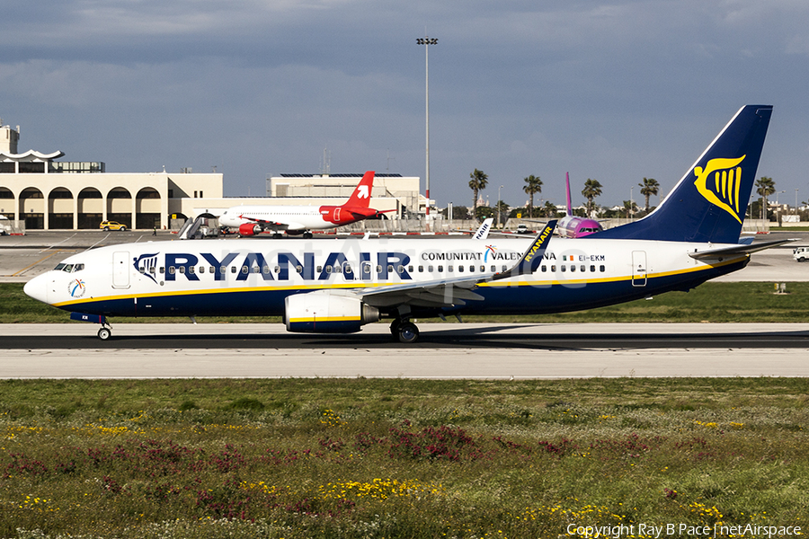 Ryanair Boeing 737-8AS (EI-EKM) | Photo 224162