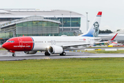 Norwegian Air International Boeing 737 MAX 8 (EI-FYB) at  Dublin, Ireland
