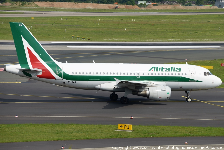 Alitalia Airbus A319-111 (EI-IMR) | Photo 402271