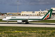 Alitalia CityLiner Embraer ERJ-190LR (ERJ-190-100LR) (EI-RNC) at  Luqa - Malta International, Malta