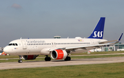 SAS - Scandinavian Airlines Ireland Airbus A320-251N (EI-SIA) at  Manchester - International (Ringway), United Kingdom