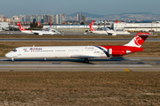 ATA Airlines McDonnell Douglas MD-83 (EP-TAM) at  Istanbul - Ataturk, Turkey