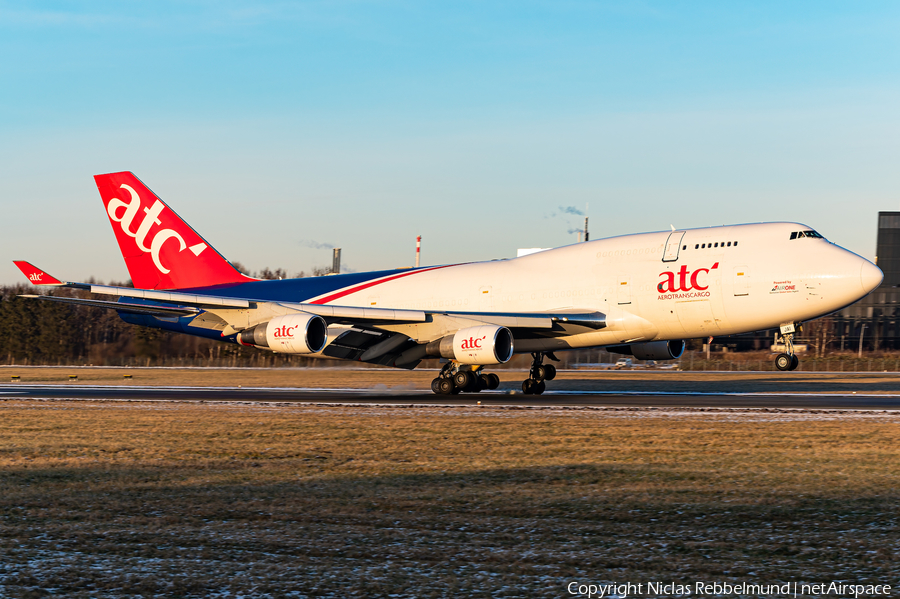 AeroTransCargo Boeing 747-412(BDSF) (ER-JAI) | Photo 430426