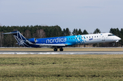 Nordica (LOT) Bombardier CRJ-900ER (ES-ACC) at  Hamburg - Fuhlsbuettel (Helmut Schmidt), Germany