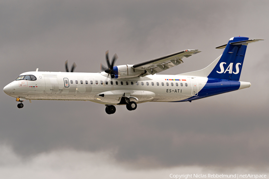 SAS - Scandinavian Airlines ATR 72-600 (ES-ATI) | Photo 393654