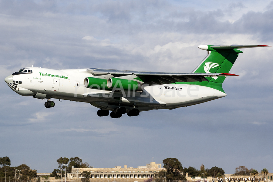 Turkmenistan Airlines Ilyushin Il-76TD (EZ-F427) | Photo 224161