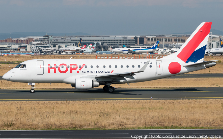 Air France (HOP!) Embraer ERJ-170LR (ERJ-170-100LR) (F-HBXM) | Photo 339452