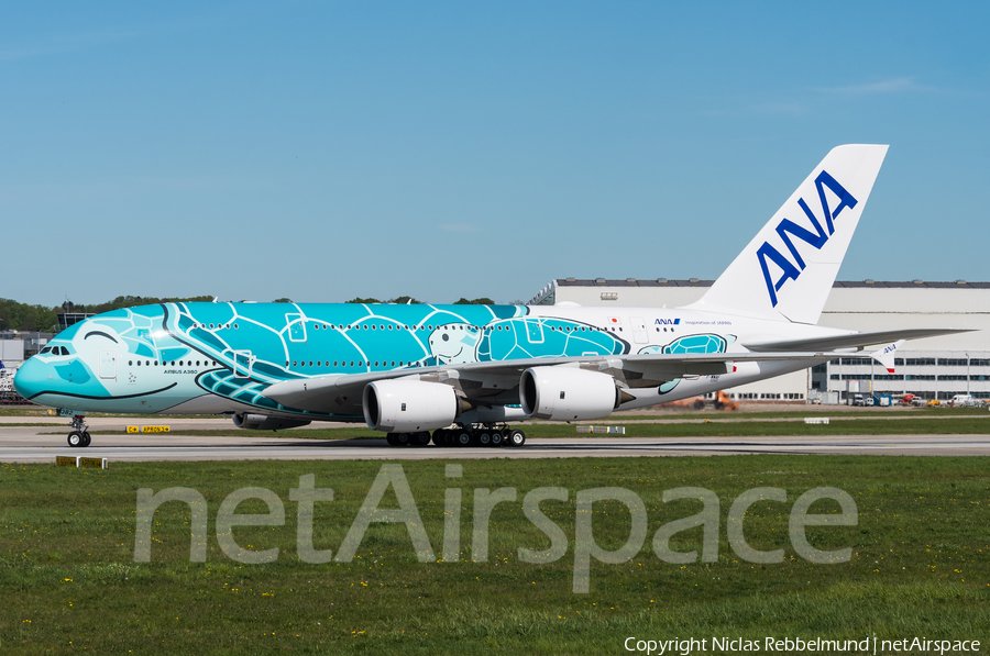 All Nippon Airways - ANA Airbus A380-841 (F-WWAF) | Photo 315231