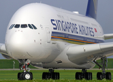 Singapore Airlines Airbus A380-841 (F-WWAQ) at  Hamburg - Finkenwerder, Germany
