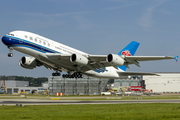China Southern Airlines Airbus A380-841 (F-WWAR) at  Hamburg - Finkenwerder, Germany