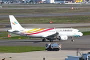 Colorful Guizhou Airlines Airbus A320-251N (F-WWBX) at  Toulouse - Blagnac, France