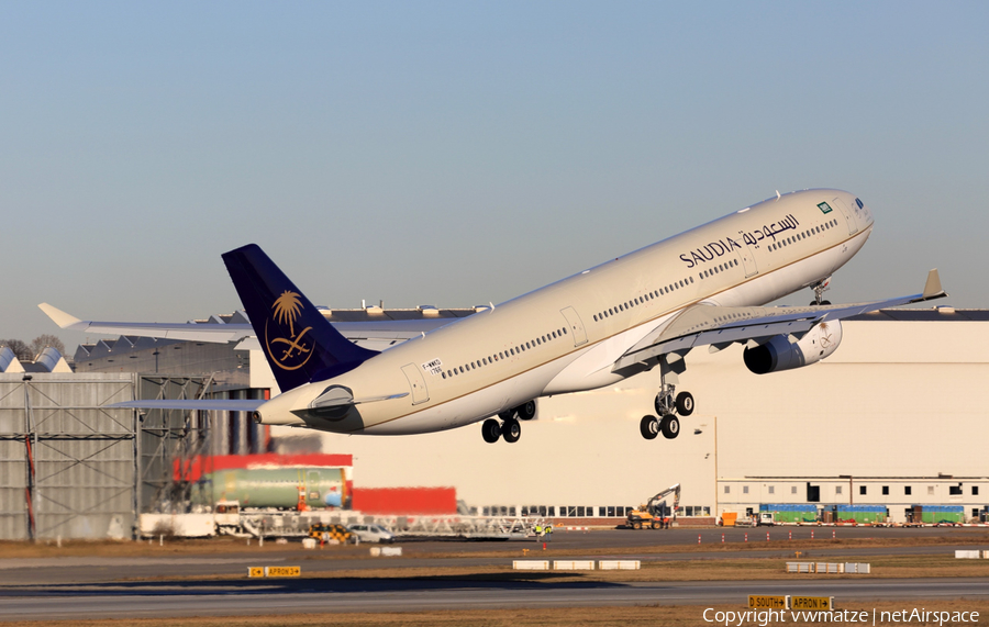 Saudi Arabian Airlines Airbus A330-343 (F-WWKD) | Photo 137992