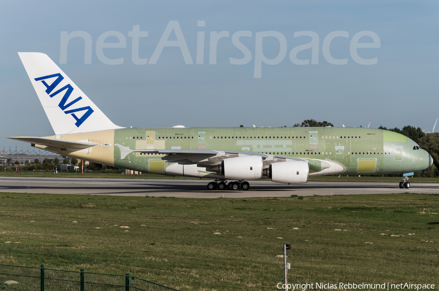 All Nippon Airways - ANA Airbus A380-841 (F-WWSH) | Photo 264422