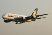 Singapore Airlines Airbus A380-841 (F-WWSI) at  Hamburg - Finkenwerder, Germany