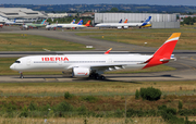 Iberia Airbus A350-941 (F-WZHC) at  Toulouse - Blagnac, France