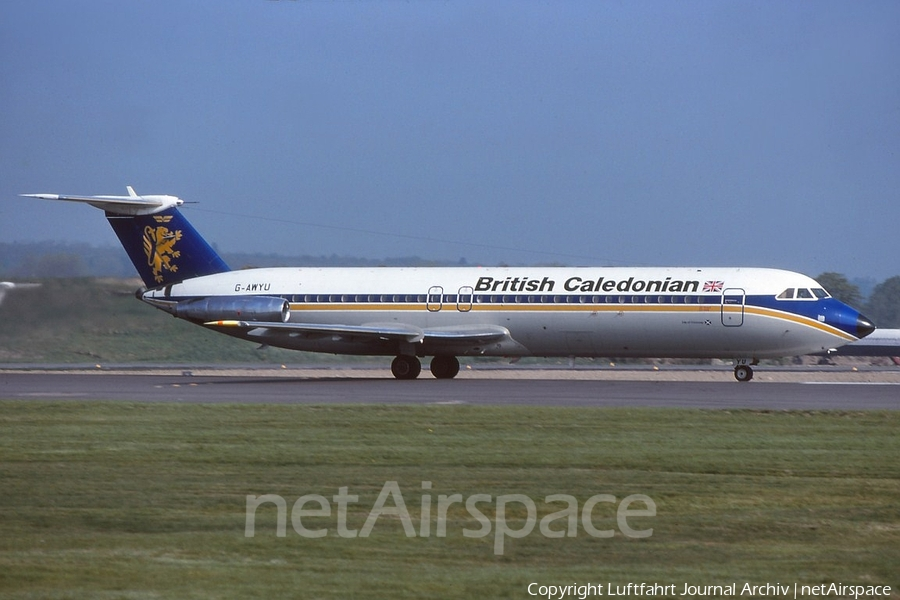 British Caledonian Airways BAC 1-11 501EX (G-AWYU) | Photo 401188
