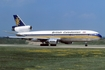 British Caledonian Airways McDonnell Douglas DC-10-30 (G-BGAT) at  London - Gatwick, United Kingdom