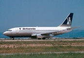 Britannia Airways Boeing 737-204(Adv) (G-BJCT) at  Palma De Mallorca - Son San Juan, Spain