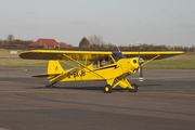 (Private) Piper PA-18-135 Super Cub (G-BKJB) at  Staverton, United Kingdom