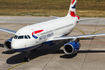 British Airways Airbus A319-131 (G-EUPE) at  Berlin - Tegel, Germany