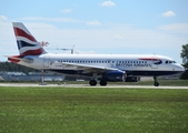 British Airways Airbus A319-131 (G-EUPU) at  Munich, Germany
