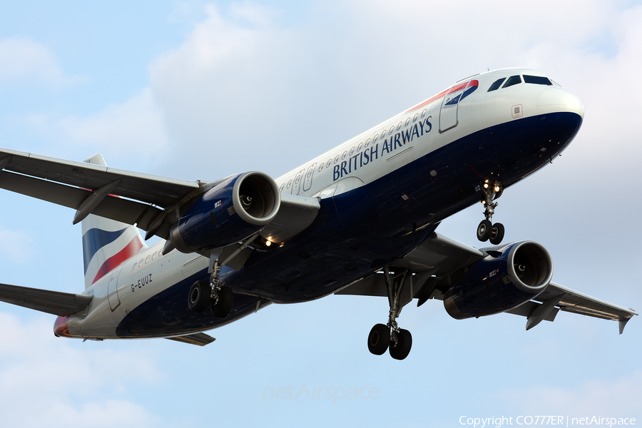 British Airways Airbus A320-232 (G-EUUZ) | Photo 422342