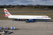 British Airways Airbus A321-231 (G-EUXE) at  Berlin - Tegel, Germany