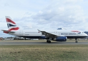 British Airways Airbus A320-232 (G-EUYK) at  Salzburg - W. A. Mozart, Austria