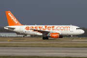 easyJet Airbus A319-111 (G-EZDS) at  Manchester - International (Ringway), United Kingdom