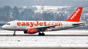 easyJet Airbus A319-111 (G-EZDY) at  Krakow - Pope John Paul II International, Poland