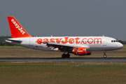 easyJet Airbus A319-111 (G-EZIN) at  Berlin - Schoenefeld, Germany