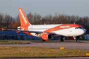 easyJet Airbus A320-214 (G-EZUF) at  Manchester - International (Ringway), United Kingdom