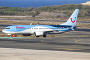 Thomson Airways Boeing 737-8K5 (G-FDZF) at  Gran Canaria, Spain