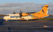 Aurigny Air Services ATR 42-500 (G-HUET) at  Sonderborg, Denmark