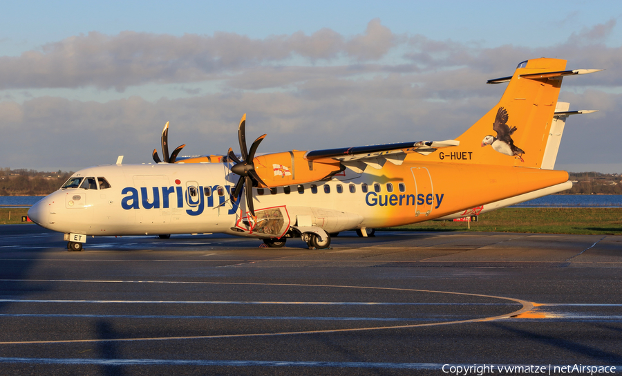 Aurigny Air Services ATR 42-500 (G-HUET) | Photo 203394