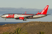 Jet2 Boeing 737-8MG (G-JZBL) at  Gran Canaria, Spain
