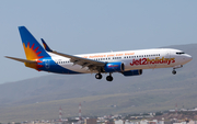 Jet2 Boeing 737-8MG (G-JZBO) at  Gran Canaria, Spain