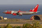 Jet2 Boeing 737-8MG (G-JZHX) at  Gran Canaria, Spain