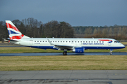 British Airways (CityFlyer) Embraer ERJ-190LR (ERJ-190-100LR) (G-LCYM) at  Edinburgh - Turnhouse, United Kingdom