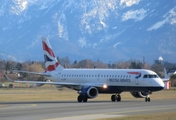 British Airways (CityFlyer) Embraer ERJ-190SR (ERJ-190-100SR) (G-LCYP) at  Salzburg - W. A. Mozart, Austria