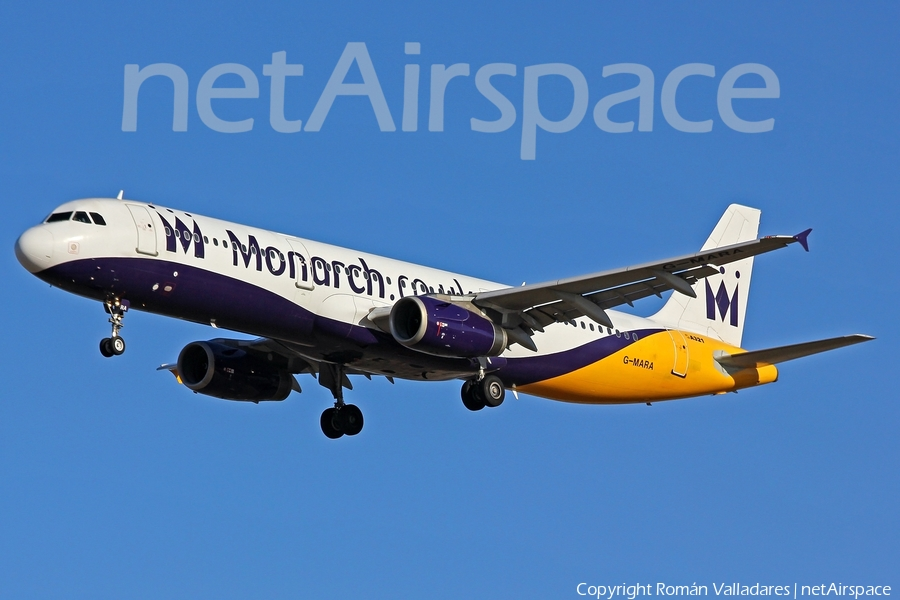 Monarch Airlines Airbus A321-231 (G-MARA) | Photo 336400