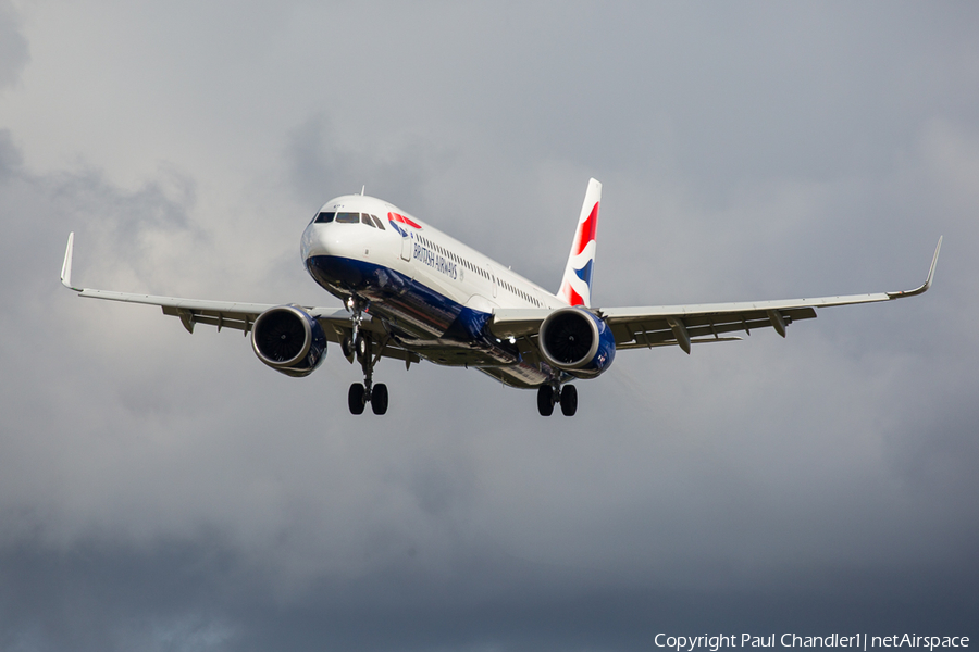 British Airways Airbus A321-251NX (G-NEOY) | Photo 403671