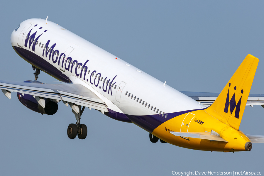 Monarch Airlines Airbus A321-231 (G-OZBE) | Photo 154336
