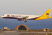 Monarch Airlines Airbus A321-231 (G-OZBF) at  Gran Canaria, Spain