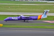 Flybe Bombardier DHC-8-402Q (G-PRPL) at  Dusseldorf - International, Germany