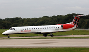 Loganair Embraer ERJ-145MP (G-SAJO) at  Manchester - International (Ringway), United Kingdom