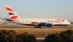 British Airways Airbus A380-841 (G-XLEB) at  Los Angeles - International, United States